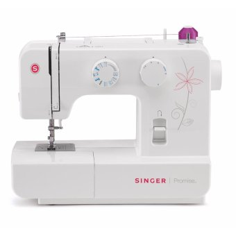 Harga Singer Promise Portable 1412 Electric Sewing Machine with 12 Built-in Stitches and 4-Step Buttonholer