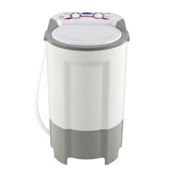 Harga Fujidenzo CWS-980 9.8 kg Single Tub Washing Machine (White/Gray)