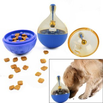 Pet Interactive Roly-Poly Toy With One Bell For Cats And Dogs. - intl Price Philippines