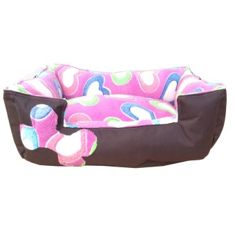 Harga Pet Depot Big Hearts Small Dog Bed (Pink)