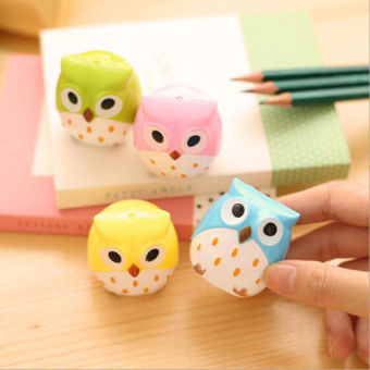Okdeals Lovely Owl Pattern Pencil Sharpener Multicolor Price Philippines
