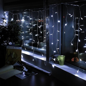 Harga Mabuhay Star Icicle String 200LED Lights SET OF 2