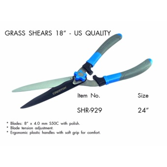 "Creston Grass Shears US Quality (18"") for hedge and grass shears garden tool Price Philippines"