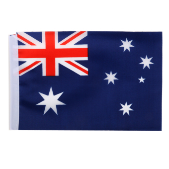 Australian Flag Australia National Flags Hand Waving Flag with Poles 12Pcs Price Philippines