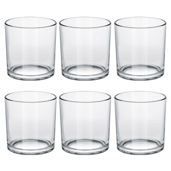 Italian Double Old Fashion / Rock Glass / Whiskey Glass / OldFashion Glass / Scotch Glass 360ml Set of 6 Glassware Price Philippines