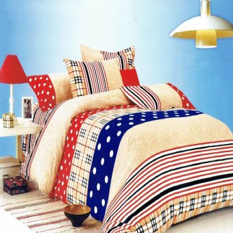 Harga Queen's Classic Linen Collection Bedsheet set of 3(AOIE-048)