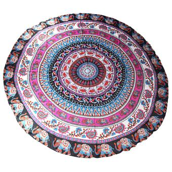 Harga MMC Summer Round Beach Towel Blanket Yoga Mat Wall Hanging Shawl Aztec Animlas