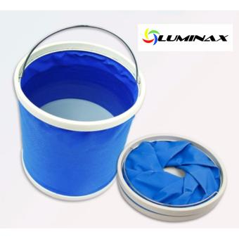 Foldable Water Bucket Collapsible (Blue) Water Container water bag Price Philippines