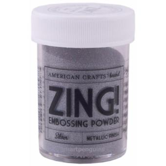 American Crafts Zing Embossing Powder - Silver Metallic Finish Price Philippines