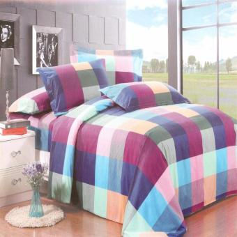 Harga Beverly's Linen Collection Comforter Set of 4 (Design-001)Queen