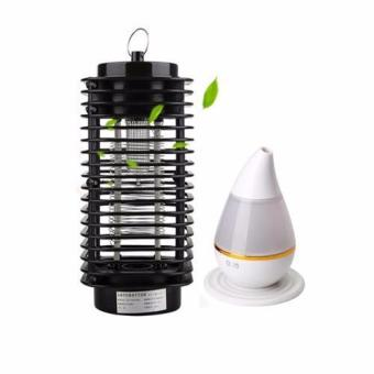 G@Best Electric Mosquito Killer/Zapper Bug Fly Trap Pest with G@Best Ultrasonic Atomization Colorful Gradient Light Humidifier (White) Price Philippines