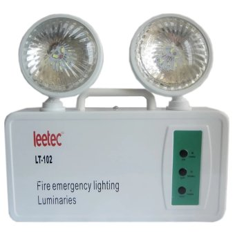Harga Leetec LED Rechargeable Emergency Light LT-102