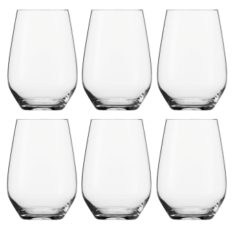 Harga Schott Zwiesel Vi�a Stemless Wine Glass / Red Wine / White Wine /Juice Glass / Cocktail Glass / Water Glass 566ml Glassware Set of 6