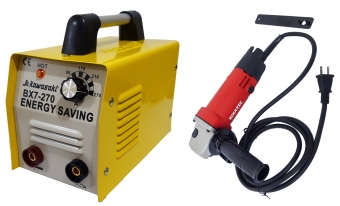 Harga JR Kawasaki BX7-270 Welding Machine Nikatec Grinder Package