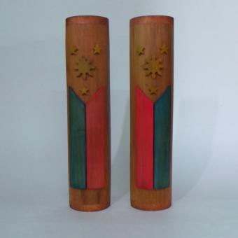 Harga War & Peace Philippine Flag Bamboo set of 2 (Small)