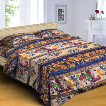 "Sleep Essentials Blossom Series Royale Aster 3 Piece Bedding Set (Fits 3"" to 6"" Bed Cushion) Price Philippines"