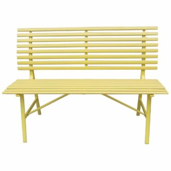 Harga JC12 Yellow Park Bench