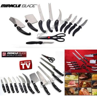 Harga Candy Online Miracle Blade World Class 13PCS knife set TV