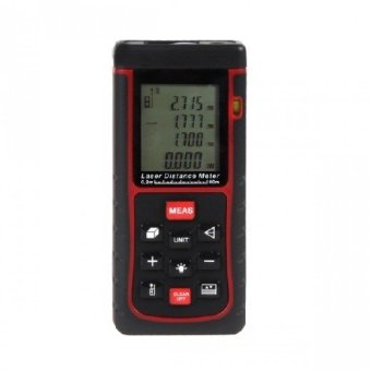 Harga Laser Distance Meter with 50 Meter Maximum Range...