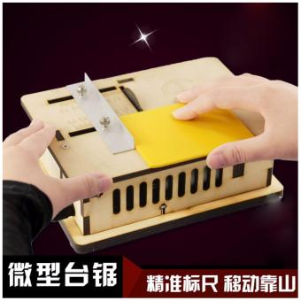 Harga Handmade Miniature Table Saws Wood Chainsaw Mini Saw Cutting Machine DIY Model Woodworking Machinery New - intl