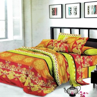 Harga CS Home Linen Collection Aces 3 Piece Bedding Sets
