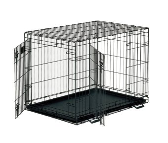 Harga Pet Cage With Tray Size 3 (Black)
