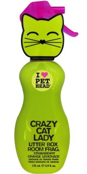 Harga I Love Pet Head Crazy Cat Lady Litter Box Room Fragrance 5.9oz