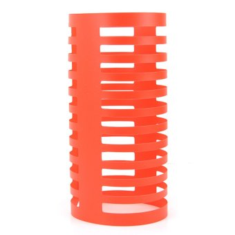 Harga Folding Cd Rack (Orange)