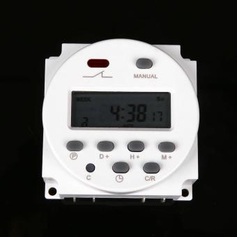 Harga YSMART 12 Volt 16 Amp LCD Digital Display Programmable Timer Switch of Solar or Battery Powered CN101A - intl