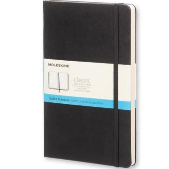 Harga Moleskine Classic Hard Cover Dotted Large Notebook (Black)