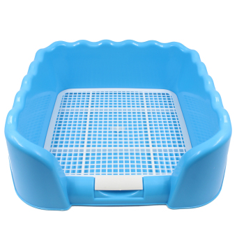 Harga Dog Cat Litter Tray Sand Box (Blue)