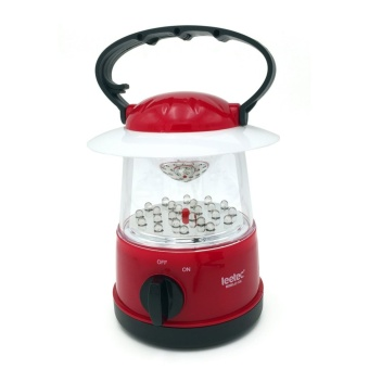 Harga Leetec LT-126 Rechargeable Handy Lantern Emergency Light (Red)