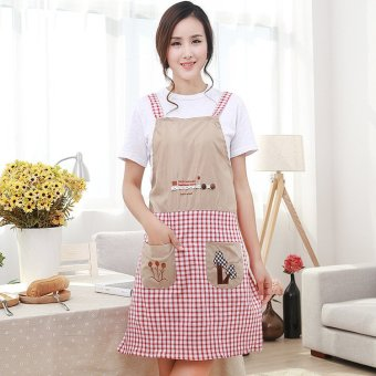Fashion lady apron kitchen house restaurant cooking apron - Intl Price Philippines