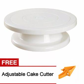 Harga Cake Decorating Turn Table Free Adjustable Cake Cutter