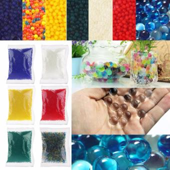 10000pcs Water Plant Flower Jelly Crystal Soil Mud Water Pearls Gel Beads Balls - intl Price Philippines