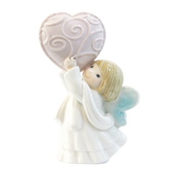 Underglazed Porcelain Baby Angel with Heart Price Philippines