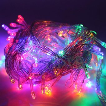 Harga Mabuhay Star 100 LED String Christmas Lights (Assorted)