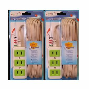 Harga SHOP AND THRIFT MMT-8813 2 Sets of 8M Moveable Multi-Function Extension Wire Cord