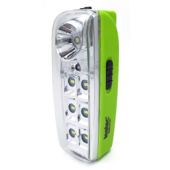 Harga Leetec Lt-331 Rechargeable Emergency Lantern (Green)