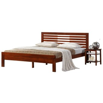 Longlife Julian Queen Size Bed Frame (Brown) Price Philippines