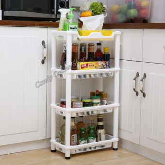 Candy Online High Quality 4 Layers Kitchen Storage Shelf SQ-1966 Price Philippines
