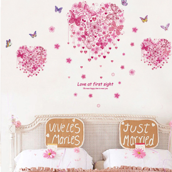 "Wallmark ""Heart Butterflies"" Wall Sticker Price Philippines"