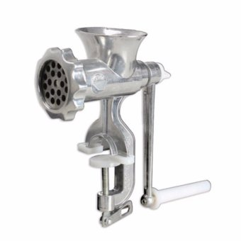 Harga Prostar 12 Inches Aluminum Alloy Steel Meat Grinder / Meat Mincer Manual - Bench Type