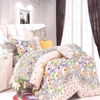 Harga Beverly's Linen Collection Comforter Set of 4 (Design-011)Queen