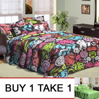 Sleep Essentials Fire Roaster Collection Queen Size 3 Piece Bedding Set Buy 1 Take 1 Price Philippines