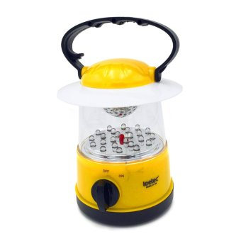 Harga Leetec LT-126 Rechargeable Handy Lantern Emergency Light (Yellow)
