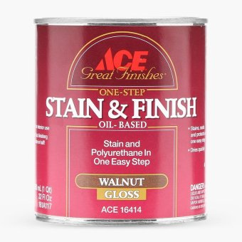 Harga Ace Hardware One-step Stain and Finish 950mL (Walnut Gloss)