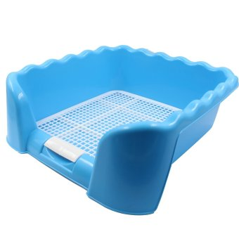 Harga Cat Litter Tray Sand Box (Blue)