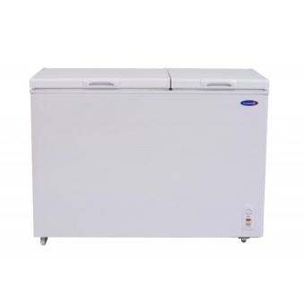 Fujidenzo FRC-105 A 10.5 cu.ft Dual Compartment Solid Top Freezer & Chiller in One (White) Price Philippines