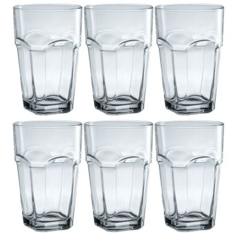 Italian Hi-Ball / Tumbler / Water Glass / Juice Glass / Soda Glass / Cocktail Glass 400ml Set of 6 Glassware Price Philippines